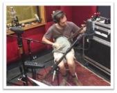 Ben on banjo