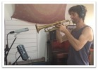 Peter on trumpet